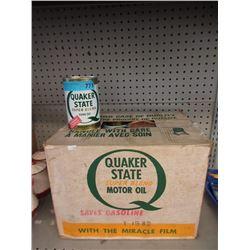 Case of Quaker State 10W-30 Motor Oil