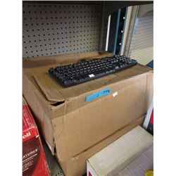 2 Cases of New Dell Corded Keyboards