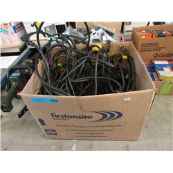 Box of Heavy Duty Extension Cords