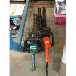 3 Electric Hedge Trimmers