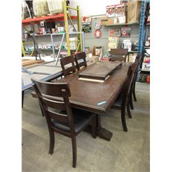 New Home Elegance 7 Piece Dining Suite