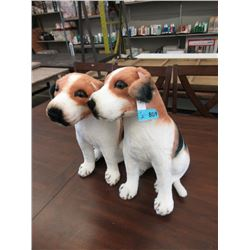 """Pair of New 17"""" Stuffed Dog Toys"""