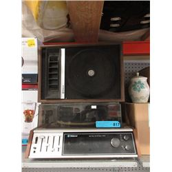 Vintage Webcor Music System with Garrard Turntable