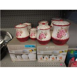 4 Boxed Sets & 8 Loose Canisters