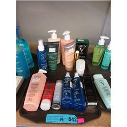 14 Assorted Vichy Cleaners & Lotions