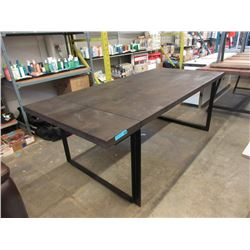 New LH Imports Dining Table with Metal Frame