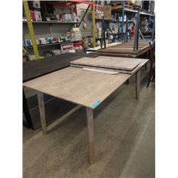 New LH Imports Wood Dining Table