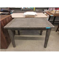 New LH Imports Condo Size Wood Dining Table