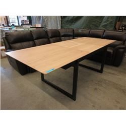 New Dining Table with Butterfly Leaf