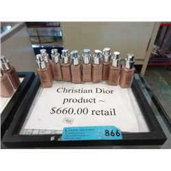 10 New Christian Dior Cosmetics - Retail $660