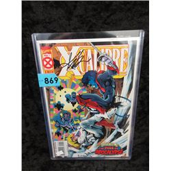 "Signed and Certified ""X-Calibre #1"" Marvel Comic"