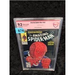 "CBCS Graded 1988 ""Spiderman #307"" Marvel Comic"