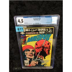 "Graded 1982 ""Daredevil #179"" Marvel Comic"