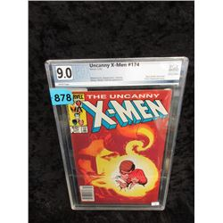 "Graded 1983 ""X-Men #174"" Marvel Comic"