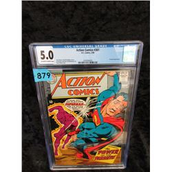 "Graded 1968 ""Action Comics #361"" DC Comic"