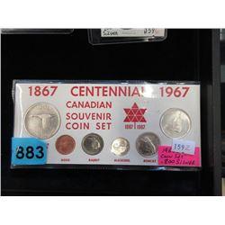 1967 Canadian Centennial Silver Coin Set
