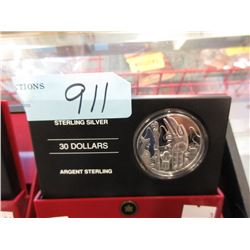 2005 Canadian Sterling Silver $30 Coin