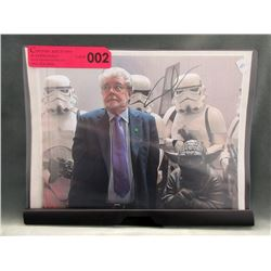 "George Lucas Signed 8"" x 10"" Photograph"
