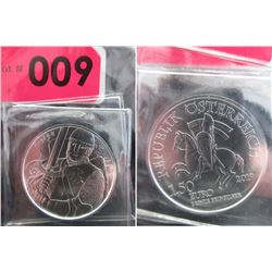 2019 Newly Minted Austrian Mint Leopold V Coin