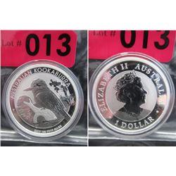 2019 Newly Minted Australian Kookaburra Coin