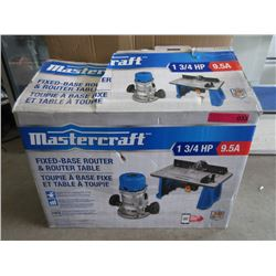 New Mastercraft Router & Table