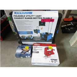 Portable Cart, Jigsaw & Scale
