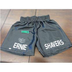 Autographed Earnie Shavers Boxer Shorts