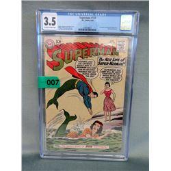 "Graded 1960 ""Superman #139"" Comic - 10¢ Cover"