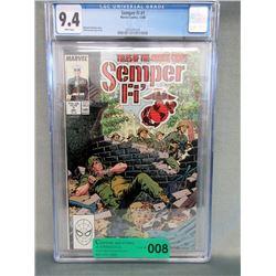 "Graded 1988 ""Semper Fi #1"" Comic - Marvel Comic"