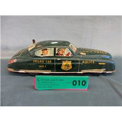 1940s/50s Pressed Steel Dick Tracy Squad Car