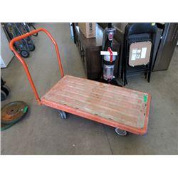 4 Wheel Heavy Duty Rolling Cart