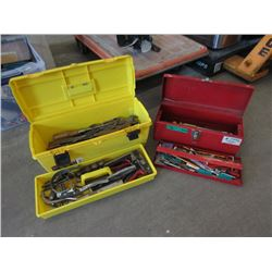 2 Tool Boxes with Contents