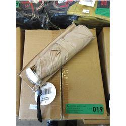 Case of 12 New Compact Folding Umbrellas - Beige