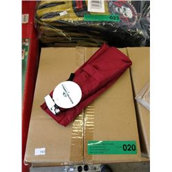 Case of 12 New Compact Folding Umbrellas - Red