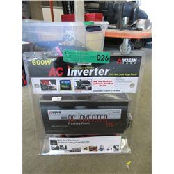 New Wagan Tech 600watt AC Inverter