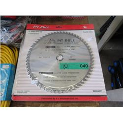 10 New Ten Inch 60 Tooth Carbide Tipped Saw Blades