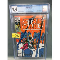 "Graded 1982 ""Star Wars #60"" Marvel Comic"