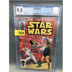 "Graded 1986 ""Star Wars #104"" Marvel Comic"