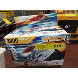 2000 Pound Winch
