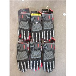 6 Pairs of New XL Bob Dale Gloves