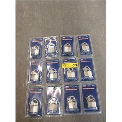 Case of 12 New Security Pad Locks