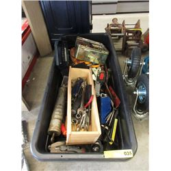 Large Tote of Hand Tools