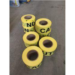 7 Rolls of Neiko Caution Tape