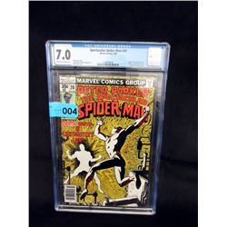 "Graded 1978 ""Spectacular Spider-Man #20"" Comic"