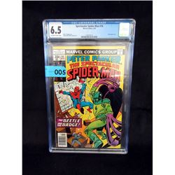 "Graded 1978 ""Spectacular Spider-Man #16"" Comic"