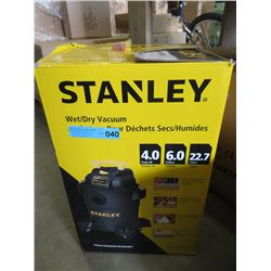 Stanley Wet/Dry Shop Vac - Store Return