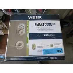 Weiser Smart Code Touch Pad Electronic Deadbolt
