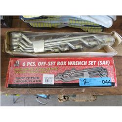 New 5 Piece & 6 Piece Off Set Wrenches
