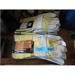 12 New Bob Dale Leather Gloves