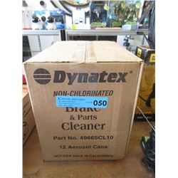 Case of Dynatex Brake & Parts Cleaner